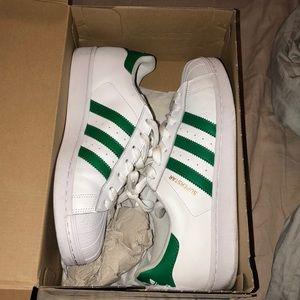 Adidas originals superstar green